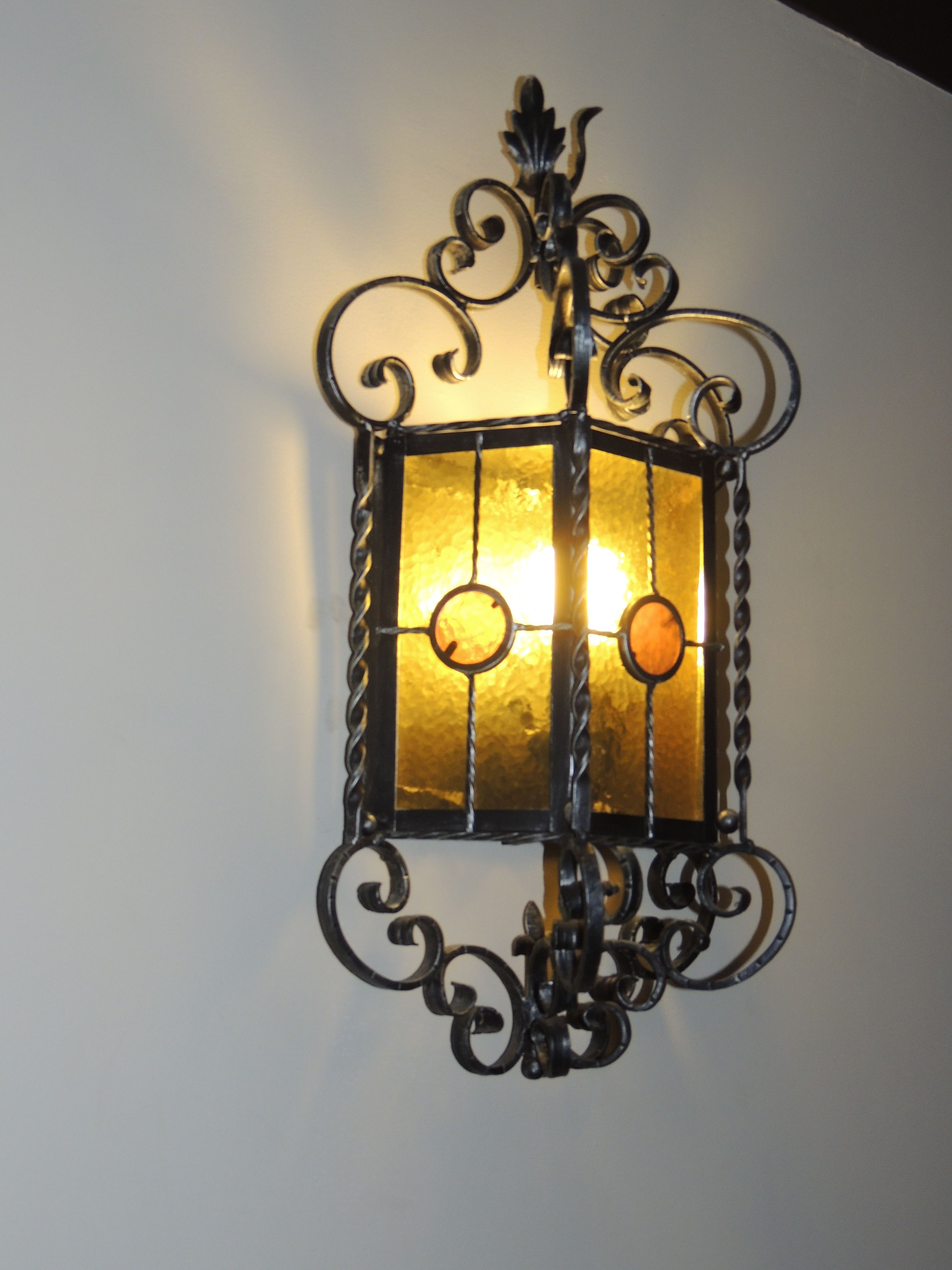 Spanish revival light fixture mission revival spanish for Spanish revival lighting fixtures