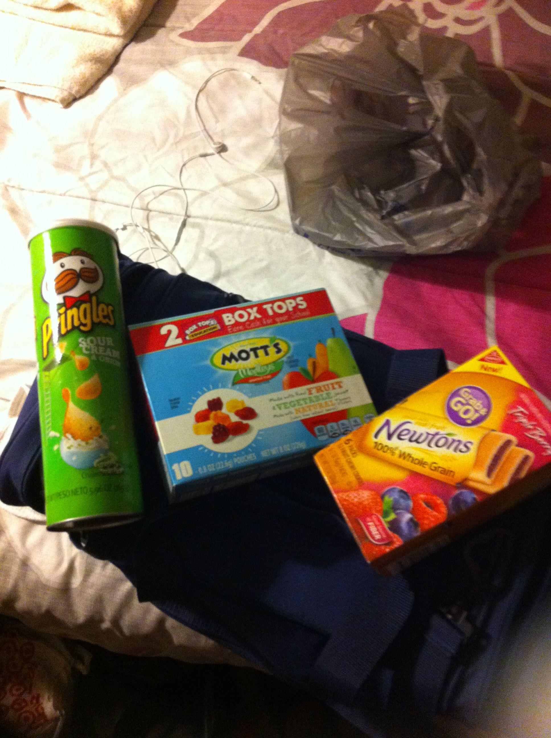 Snacks for camp | Cheerleading | Pinterest