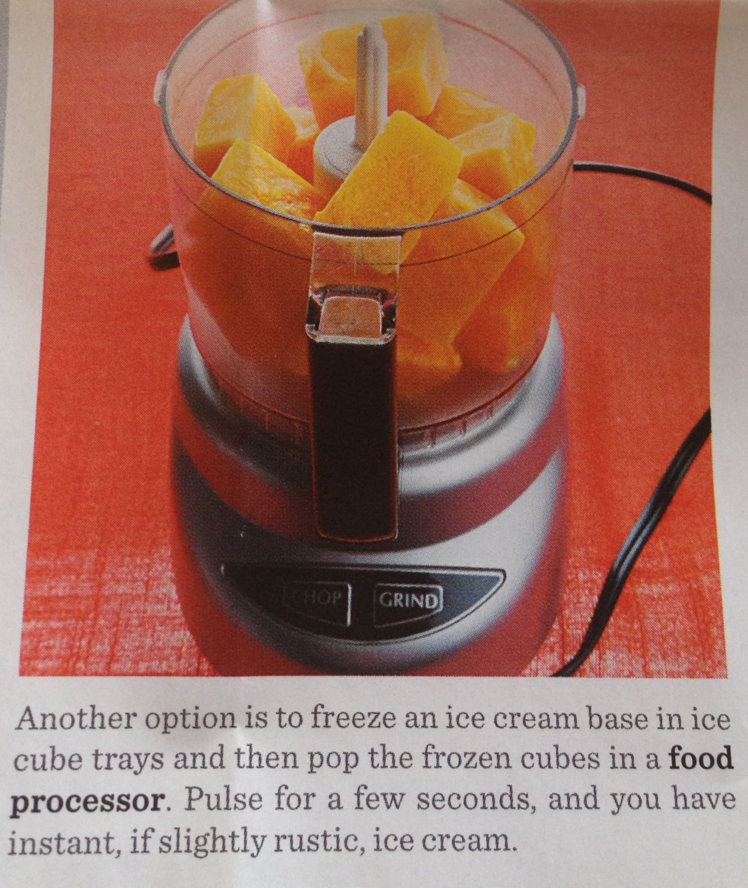 Use a Food Processor for Ice Cream! | Food | Pinterest
