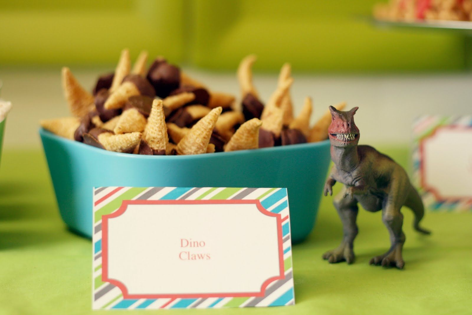 Dinosaur party food  Birthday Party ideas  Pinterest