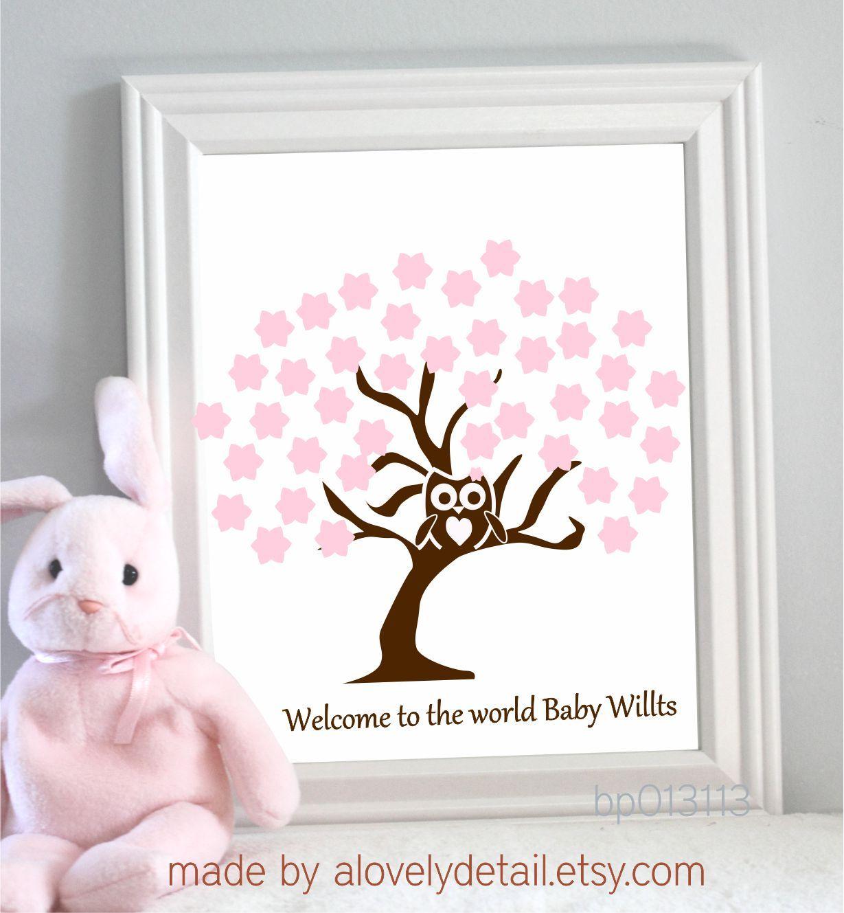 baby shower guest book idea par tay pinterest