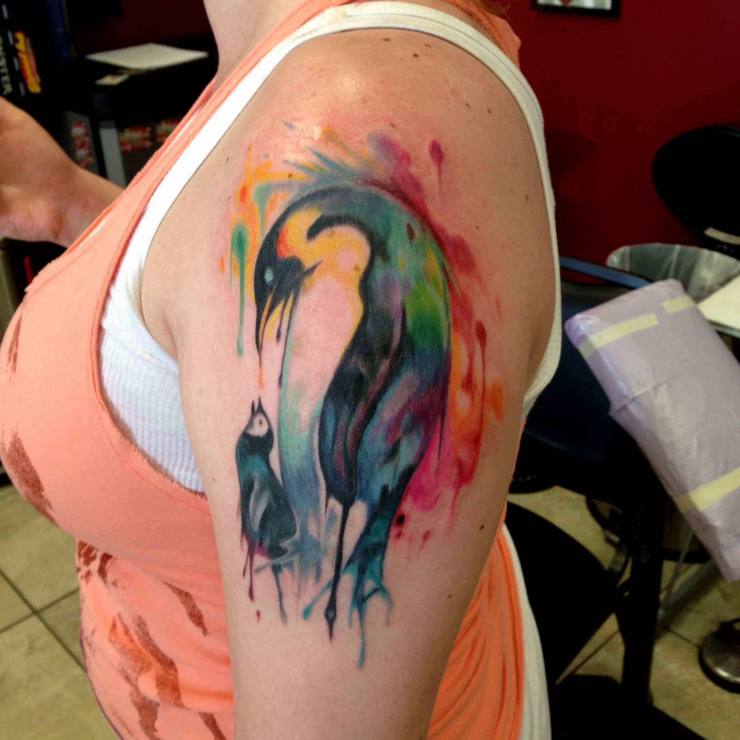 Что обозначает тату пингвин