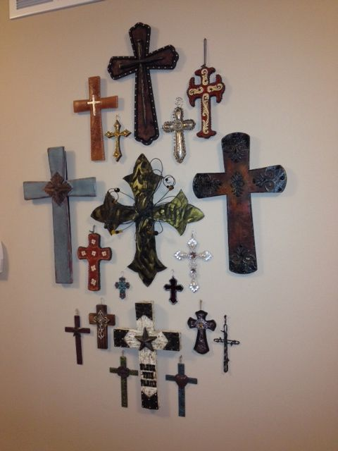 my cross wall in my house decorating ideas for the home