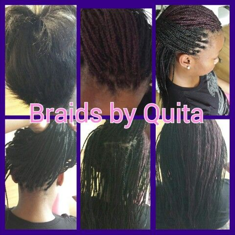 Short box braids Braids, crochet, twists, & dreads Pinterest