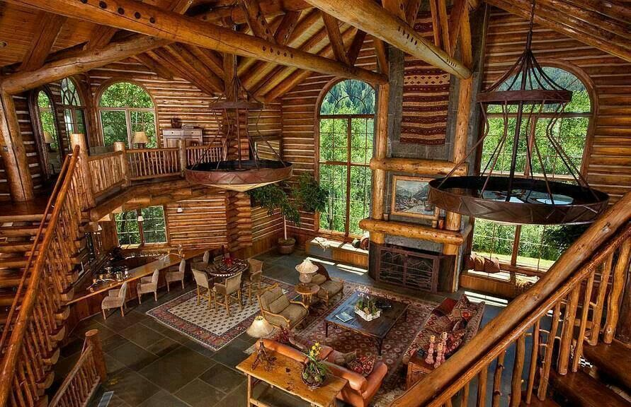 Amazing Cabin Cottages Log Cabins Tree Houses Pinterest