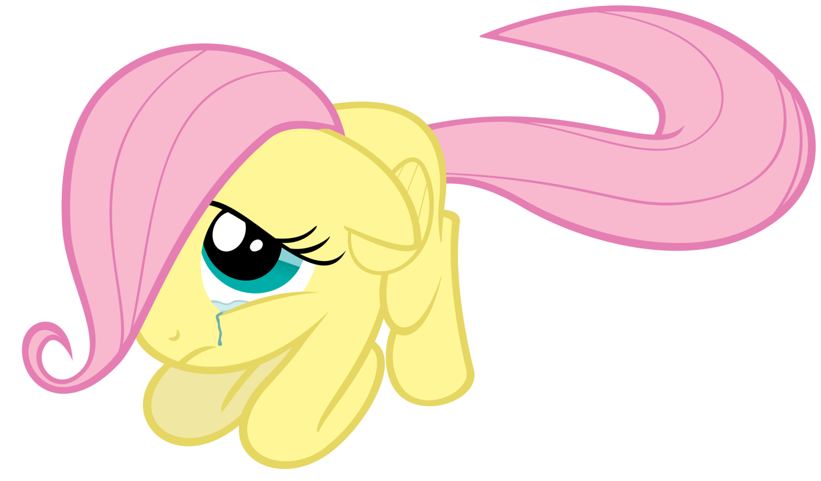Filly Fluttershy crying | Fluttershy :3 | Pinterest