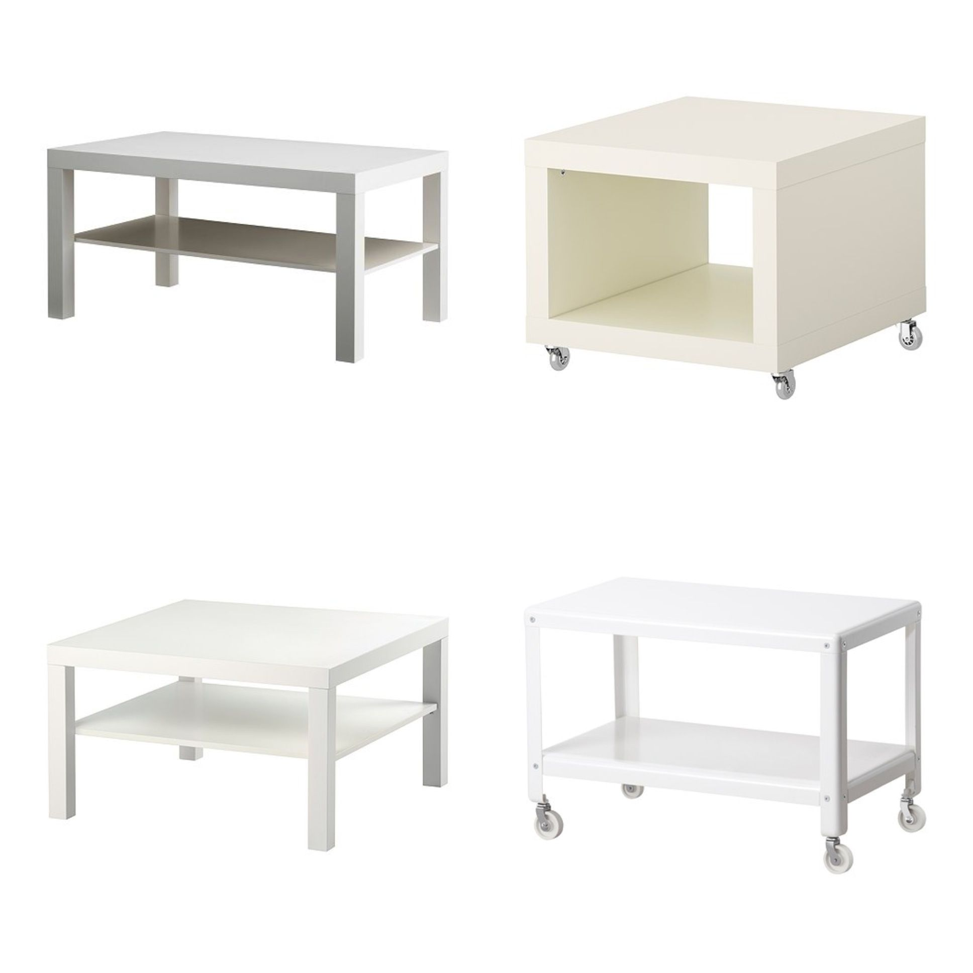 White Ikea Coffee Tables Swedish Furniture Pinterest