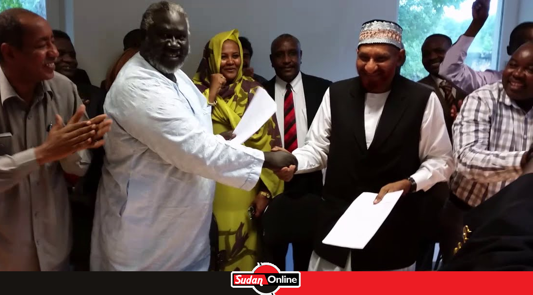 The leader of the National Umma Party (NUP), Sadiq al-Mahdi arrived in Addis Ababa Saturday to participate in meeting between the opposition and rebel groups in Addis Ababa as the government renews calls for his return to Sudan.