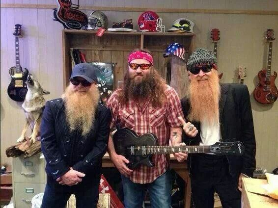 zz top duck dynasty pinterest. Black Bedroom Furniture Sets. Home Design Ideas