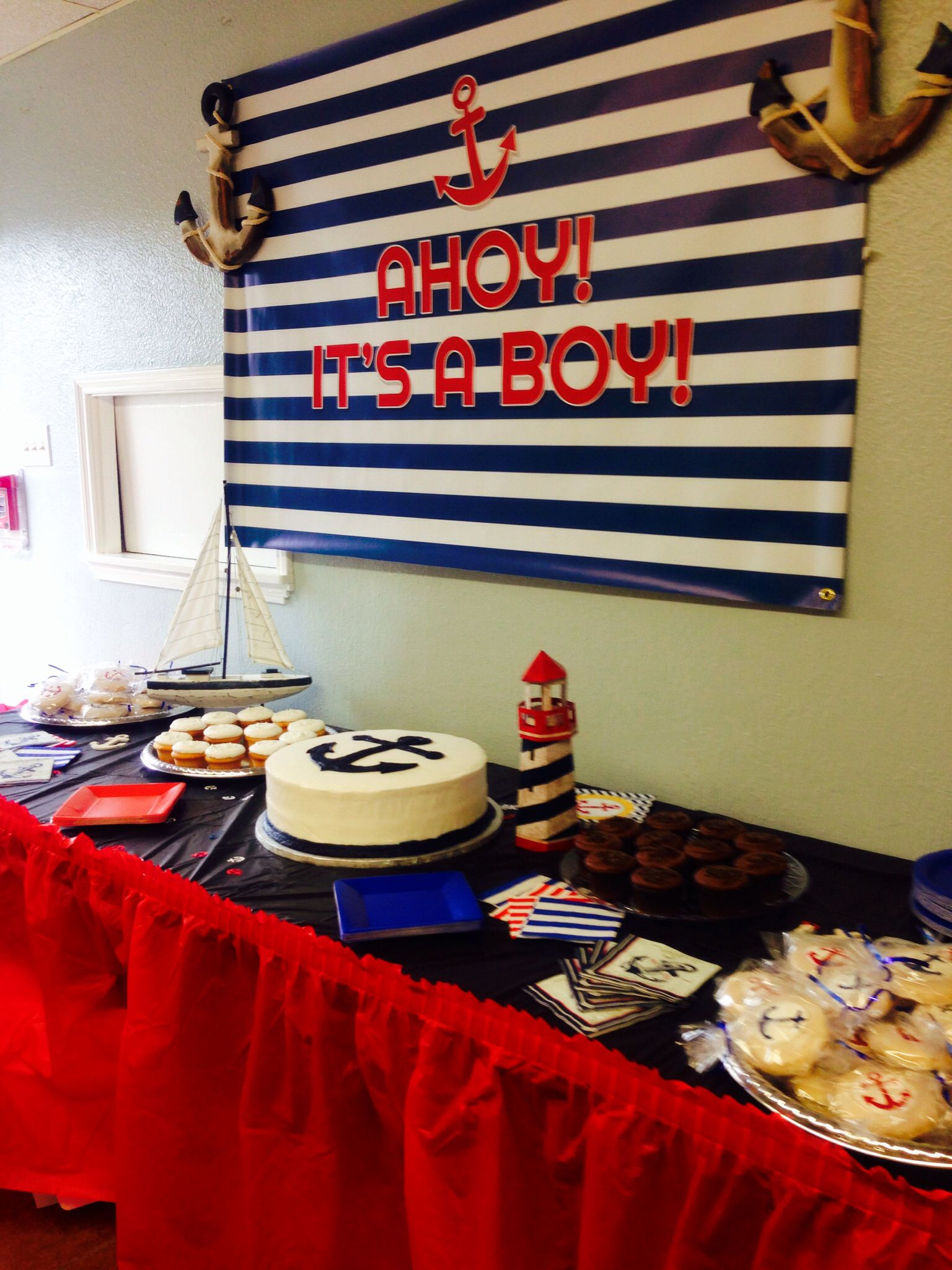 anchor baby shower baby pinterest