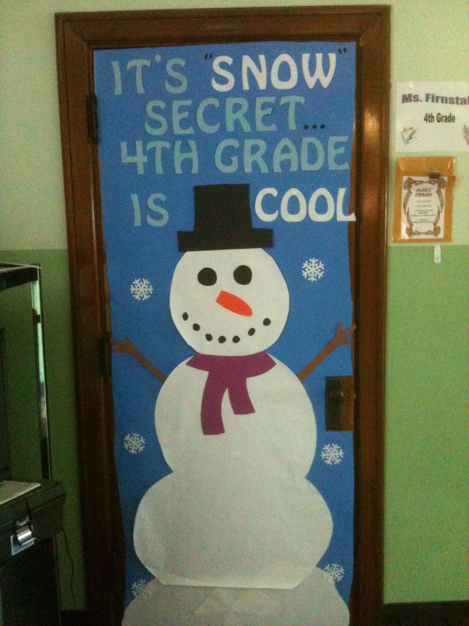 Winter Wonderland Classroom Door Decorations : Site unavailable