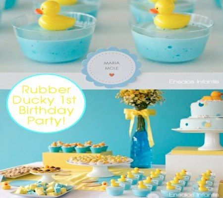 love this rubber ducky party theme baby shower ideas pinterest