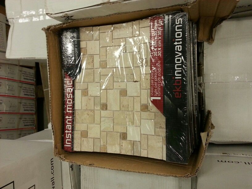 peel and stick backsplash for the home pinterest
