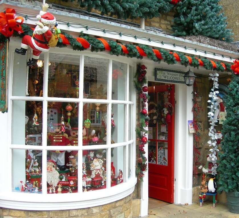 cotswolds christmas shoppe christmas pinterest