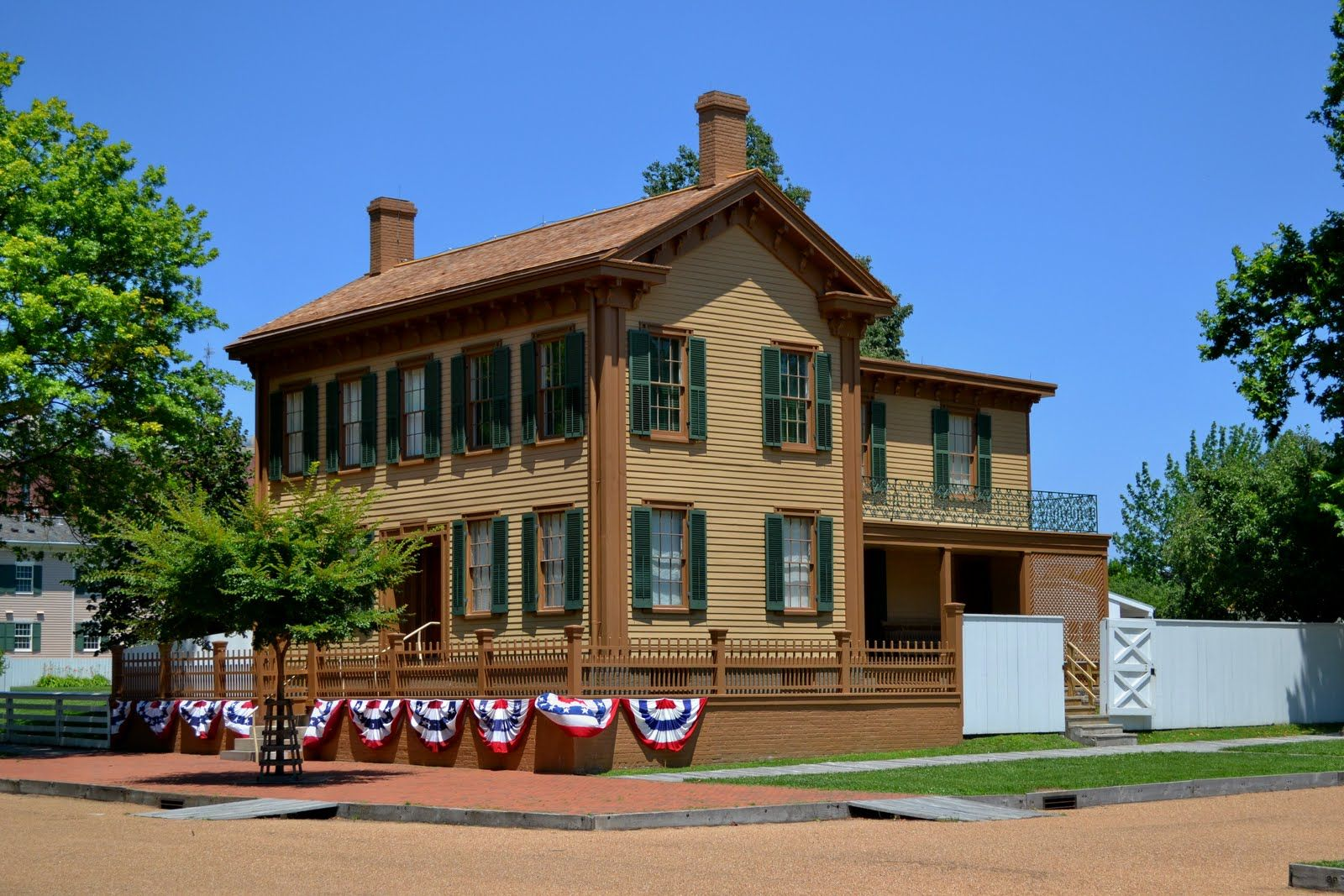Lincoln Home Springfield Il Abraham Lincoln Pinterest