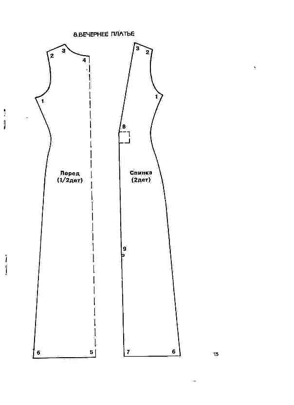 Как сшить платье для начинающих выкройки для барби