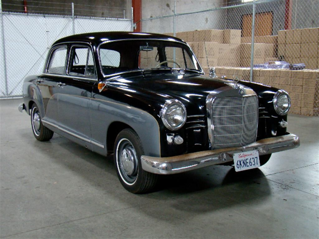 1958 mercedes benz 190s sedan classic cars pinterest
