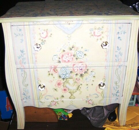 Hand Painted Diy Cabinet Shabby Chic Hand Painted Furniture Pi