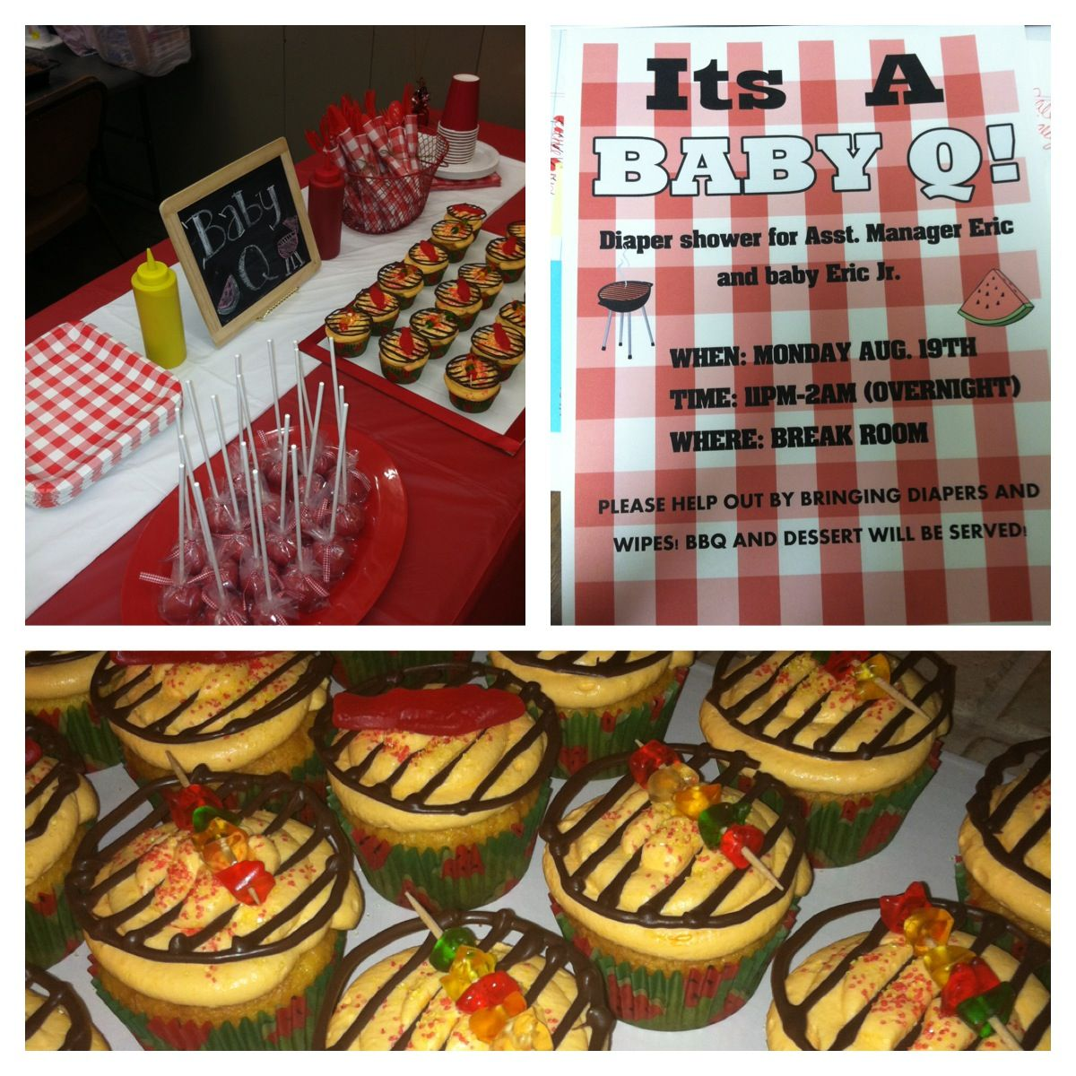 eric 39 s baby q man baby shower party ideas pinterest