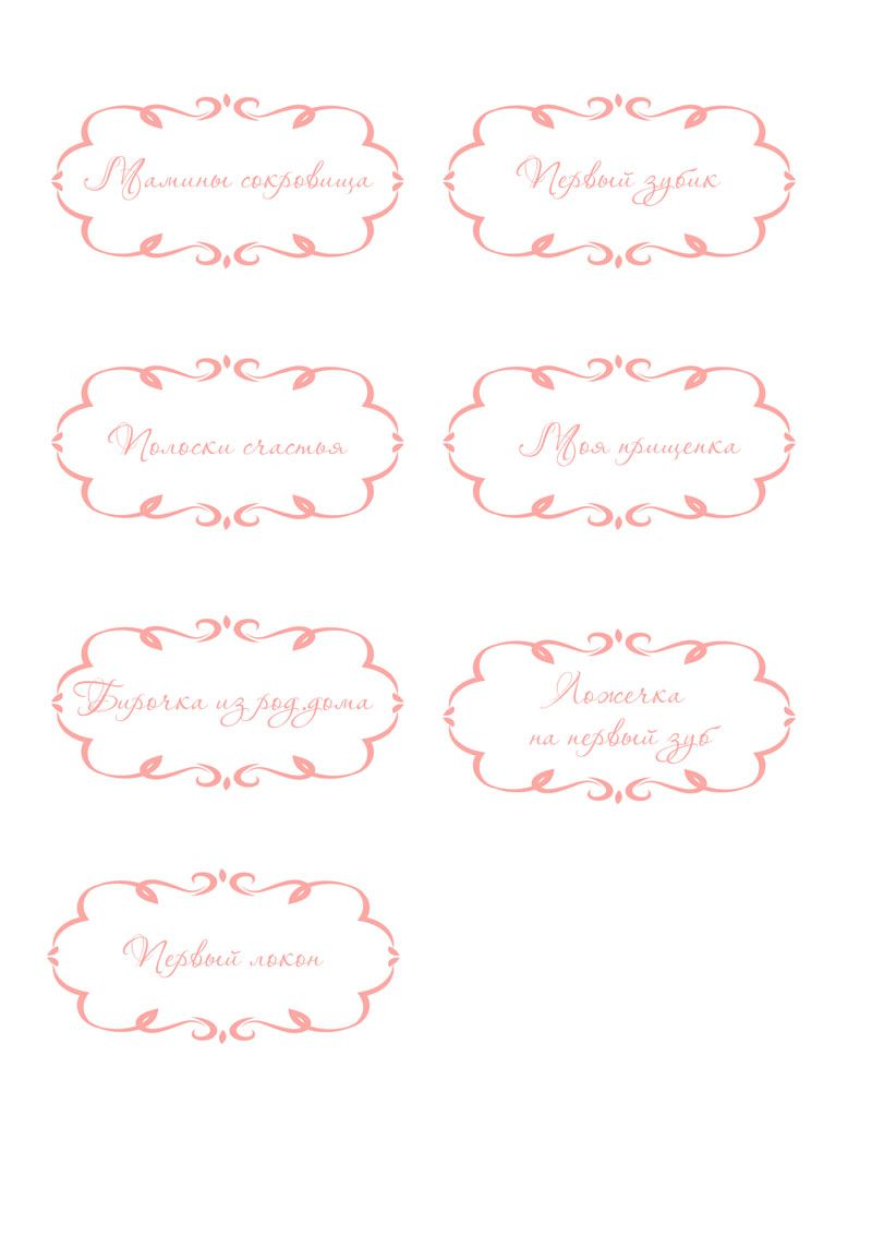 Как сделать шаблон надписи