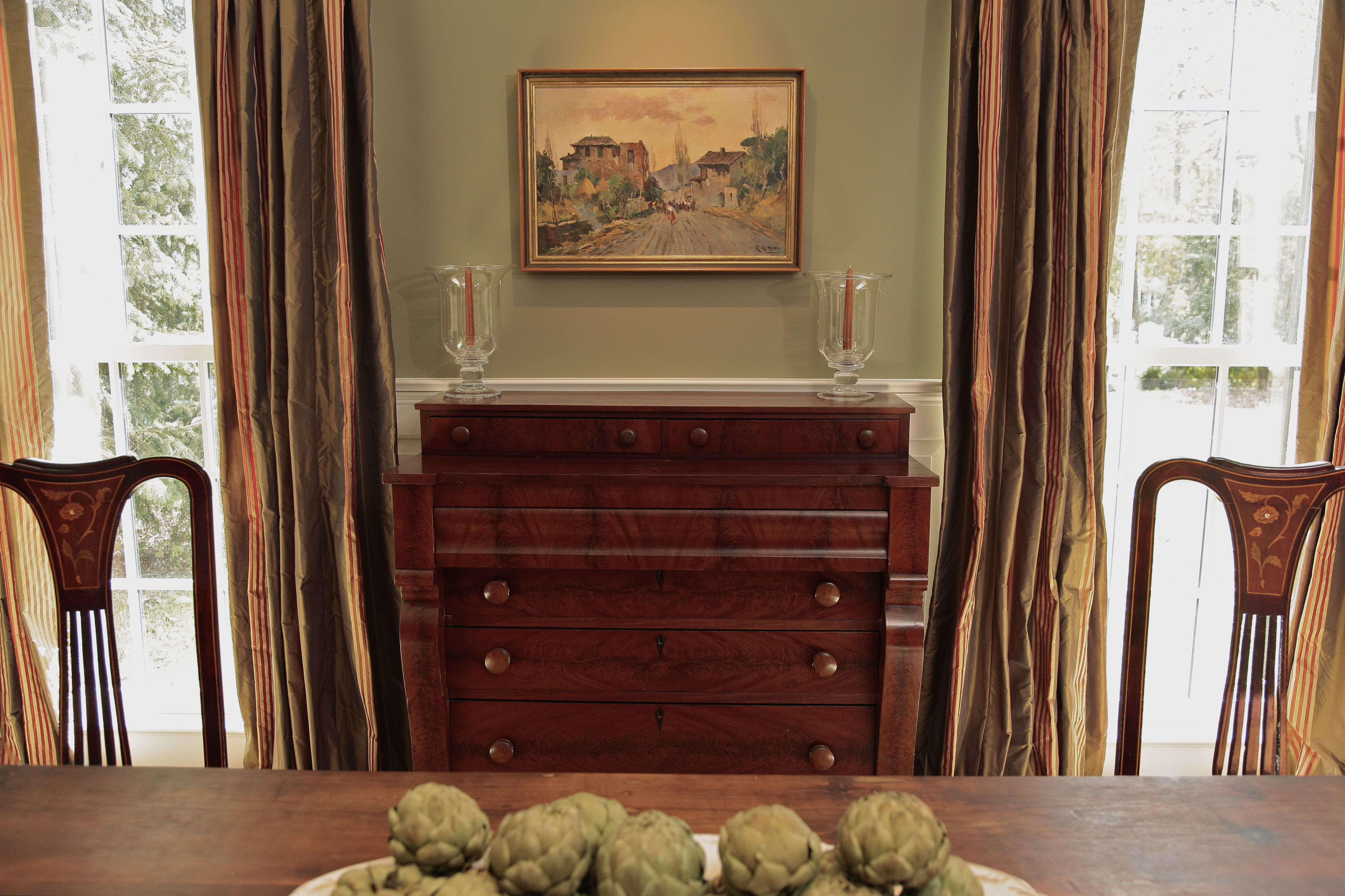 antique empire chest in dining room consoles tables pinterest