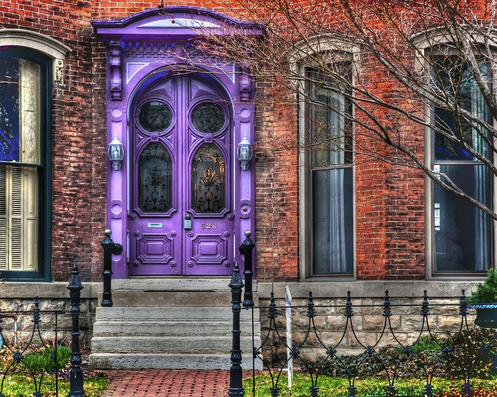 819 #5A3992 The Purple Door Of All Purple Doors! Doors! Pinterest wallpaper Purple Front Doors 47051024