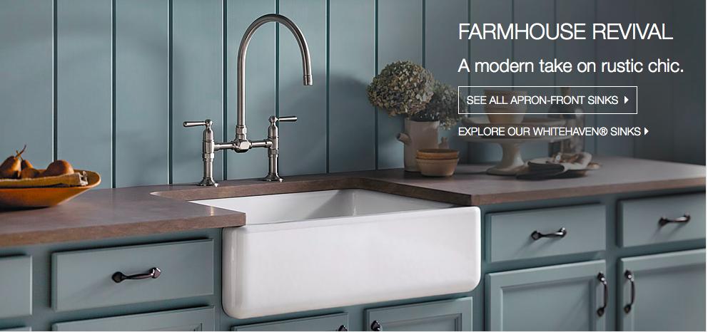love blue cabinets in farmhouse kitchen  RustiC DecoR  Pinterest