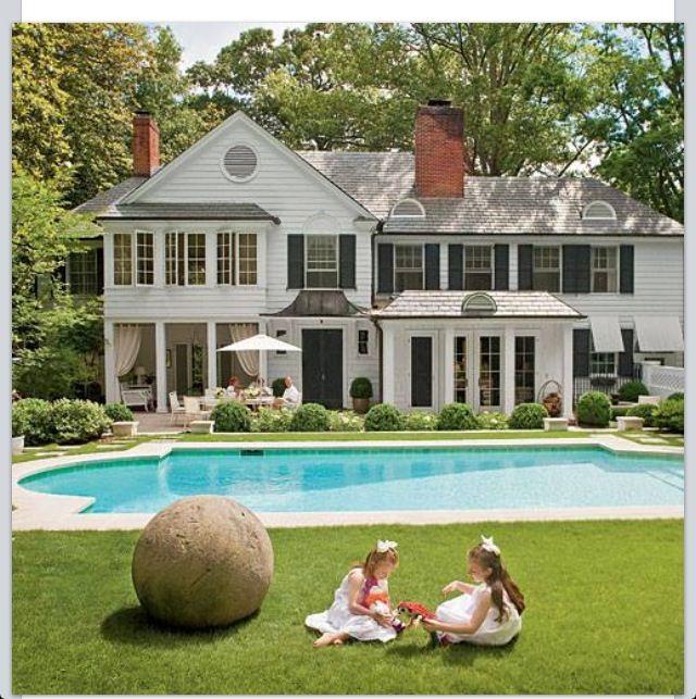 Beautiful pool backyard swimming pools pinterest for Beautiful backyard swimming pools