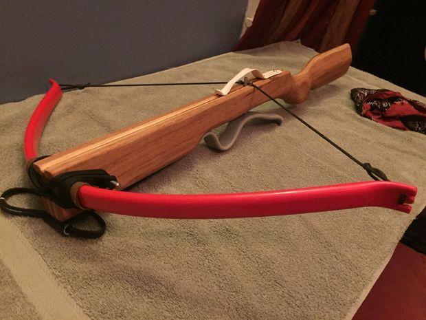 Как сделать арбалет или лук 861