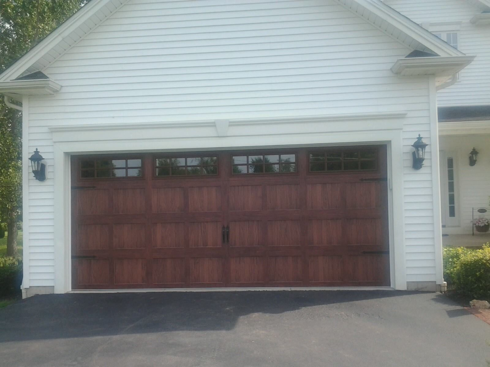 1200 #636C48 Carriage Garage Door Beautiful Homes Inside And Out Pinterest pic Beautiful Garage Doors 38011600