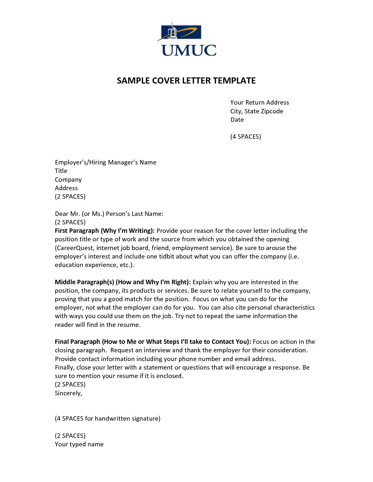 cover letter job in same company