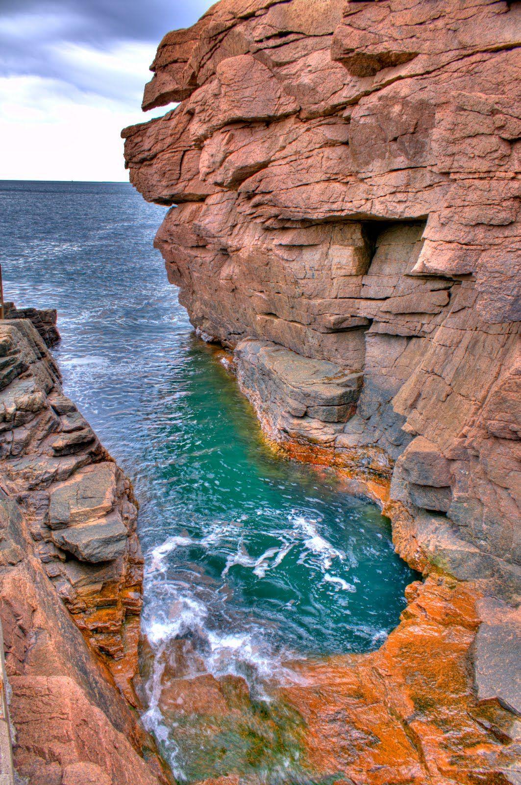Acadia national park maine books worth reading pinterest for Thunder hole acadia