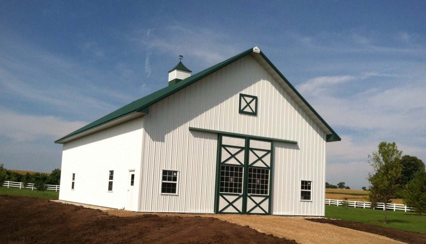 Beautiful pole barns joy studio design gallery best design for Pole barn garage homes