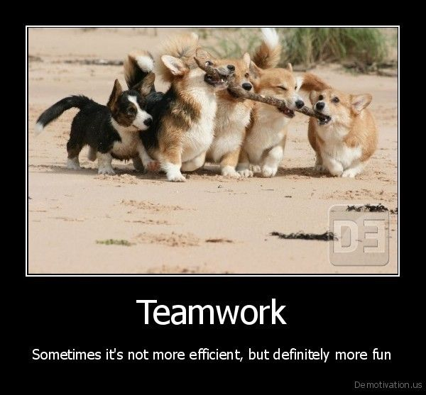 Office Teamwork...