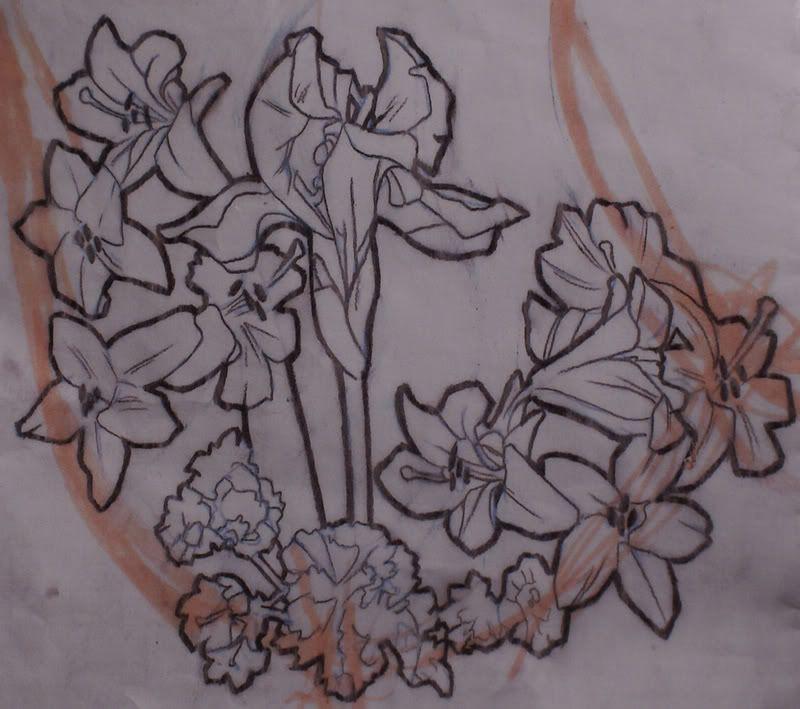 Alphonse Mucha Flower Tattoo   www.imgkid.com - The Image ...