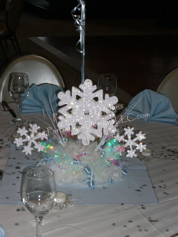 Winter wonderland centerpiece sweet pinterest