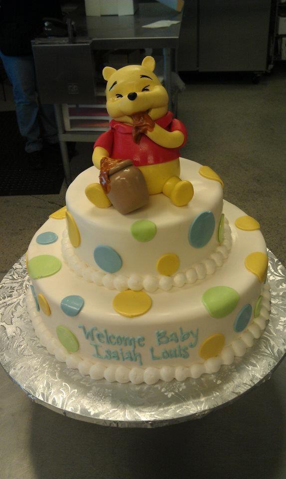 winnie the pooh baby shower cake baby shower idea pinterest