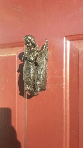 I love my angel mermaid door knocker house to home pinterest - Mermaid door knocker ...