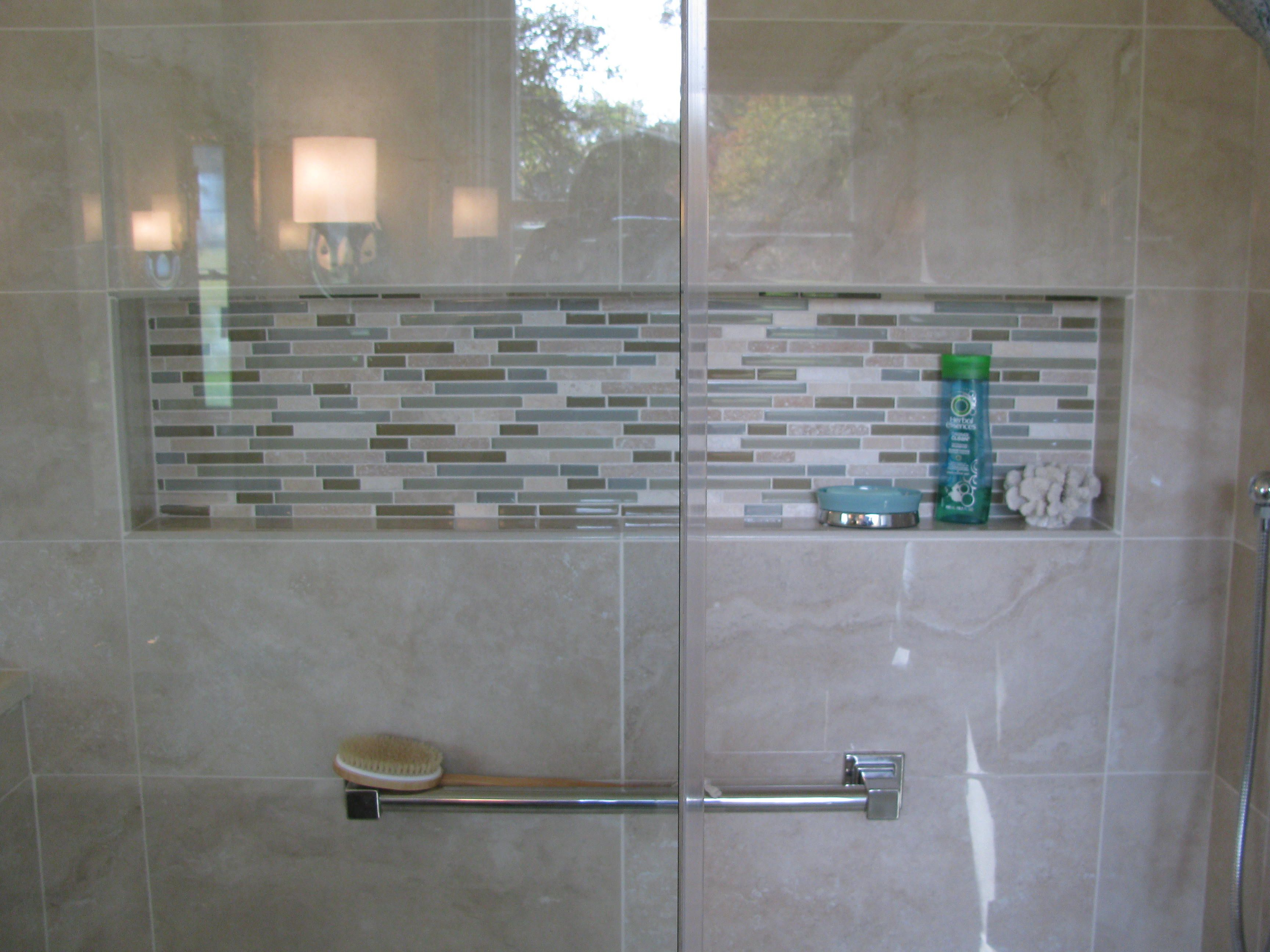 Luxury The Bathroom Is As Refined As The Outdoor Surroundings Of The  And Shower Walls  Provides Elegant Yet Natural Appeal The Waterworks Keystone Tile Used