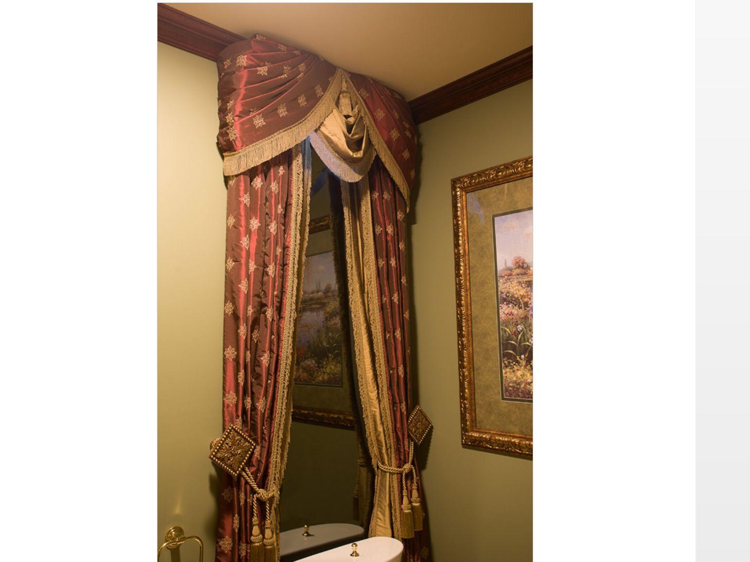 Elegant decor window treatments pinterest for Elegant window