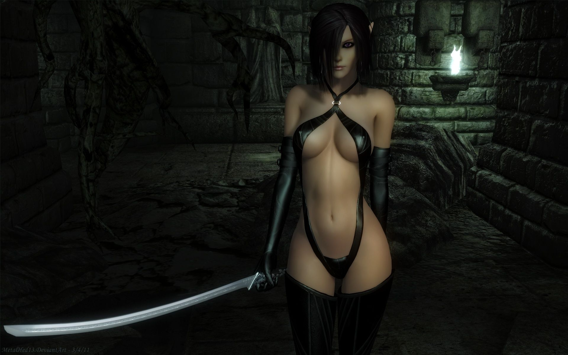 Sexy dark elf girls sexy photo