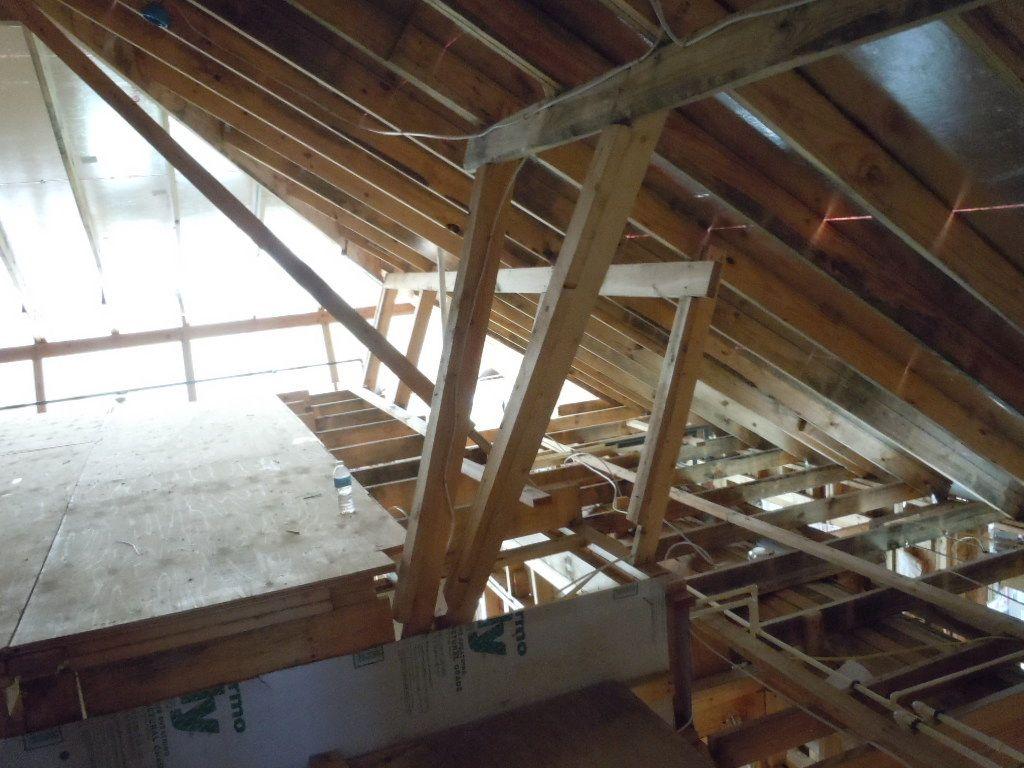 Attic storage attic garage pinterest for Garage with attic