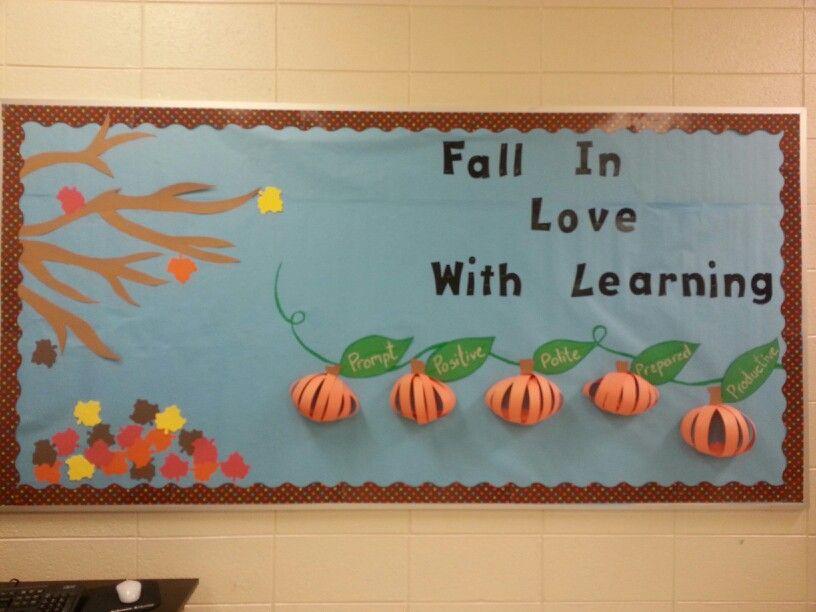 Fall poster board ideas