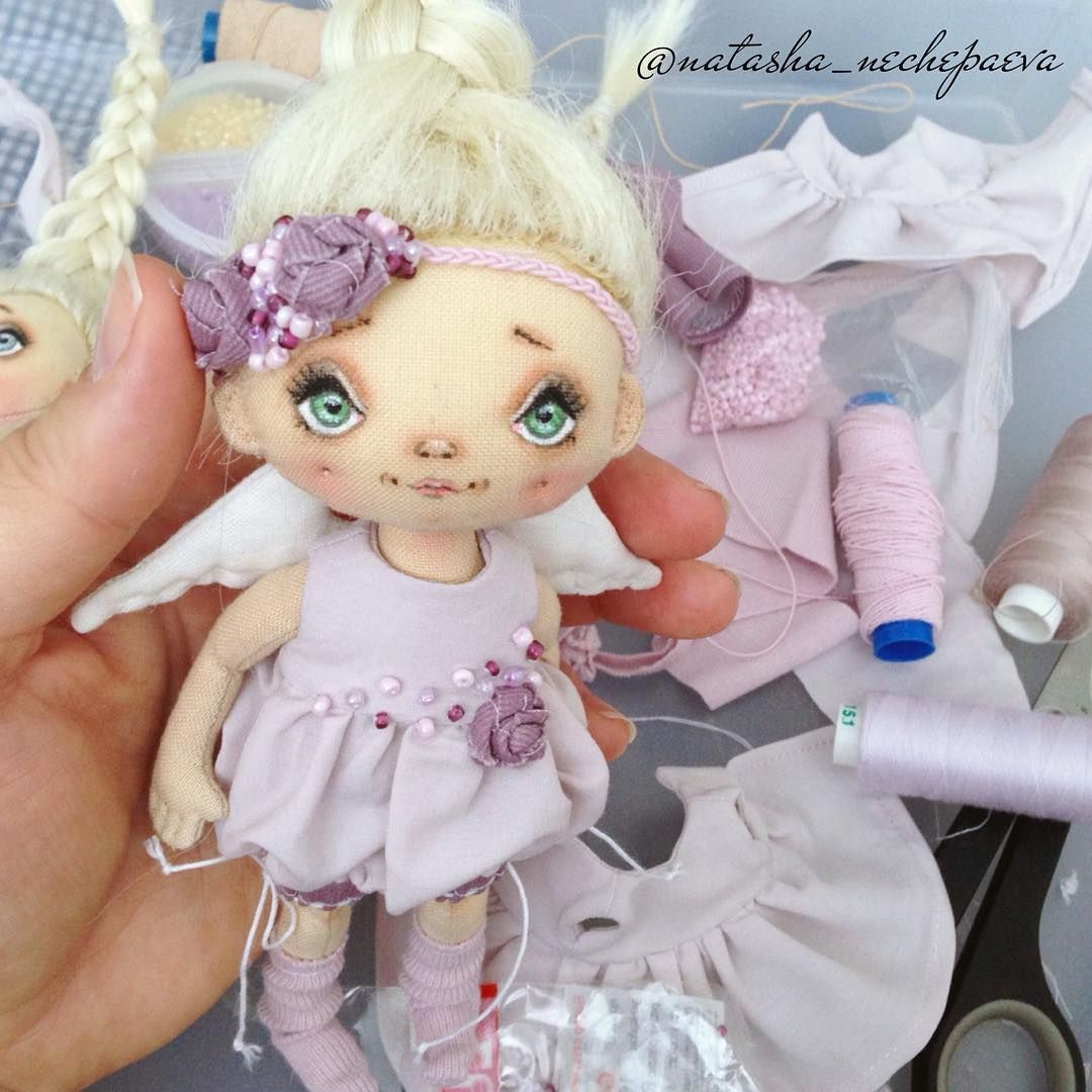 Изготовление текстильных кукол своими руками обучение