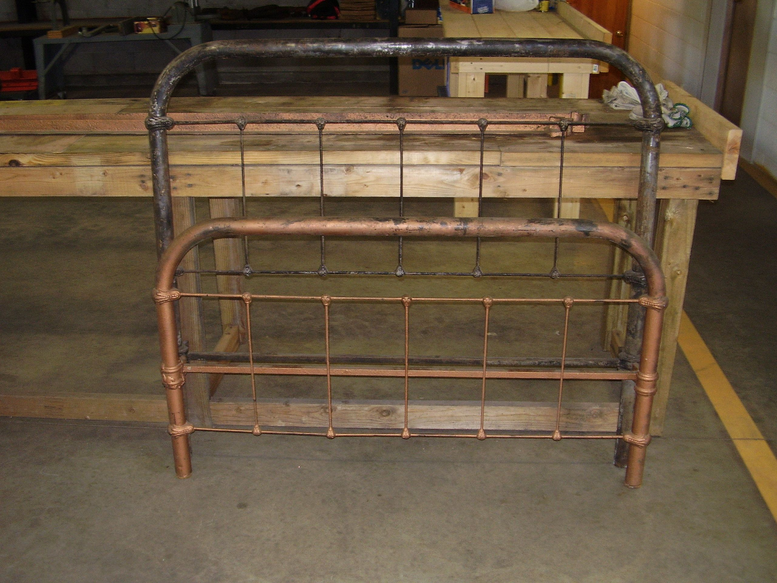 Antique Iron Bed Frame For The Home Pinterest
