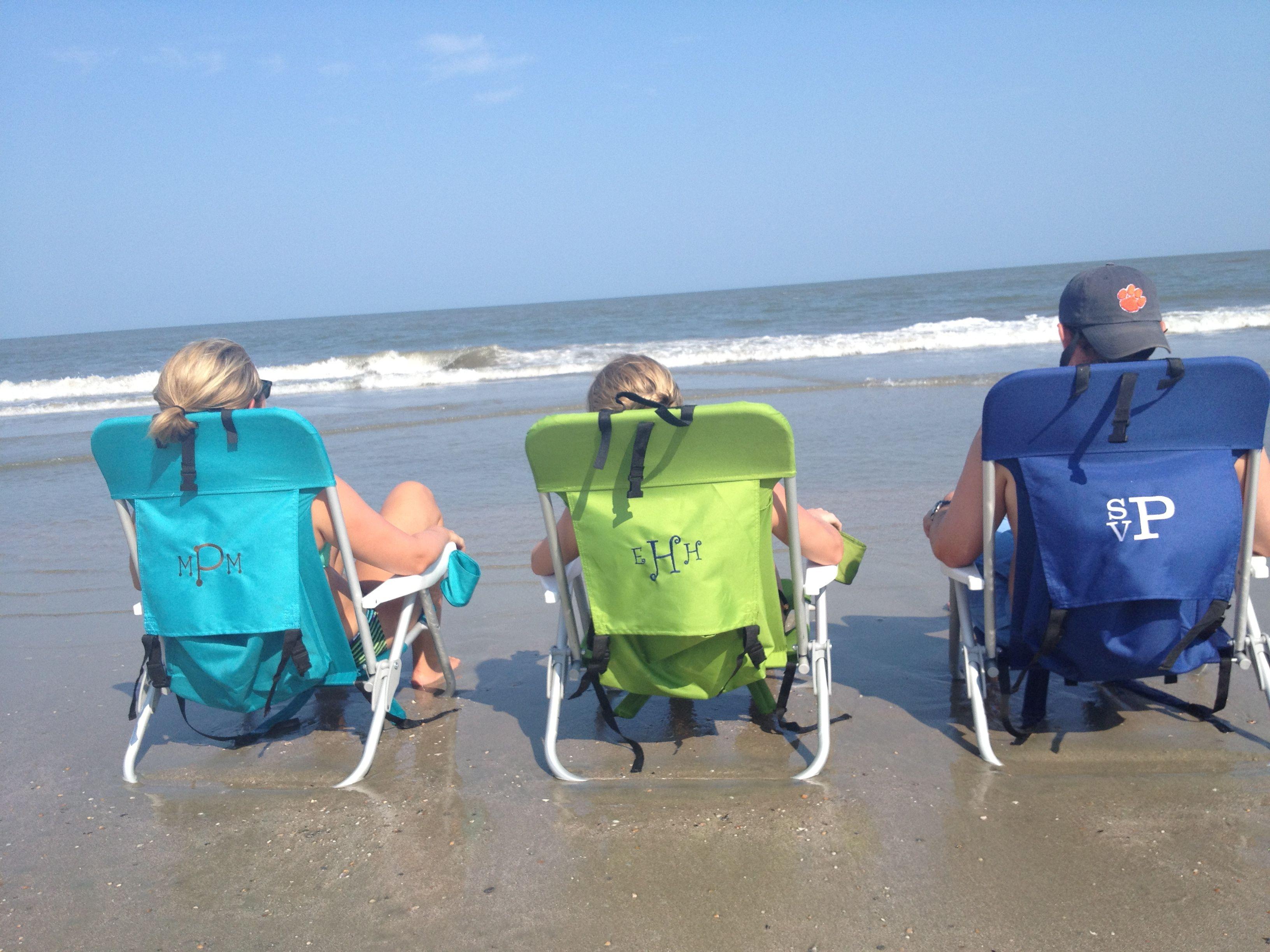 beach chairs Monogram