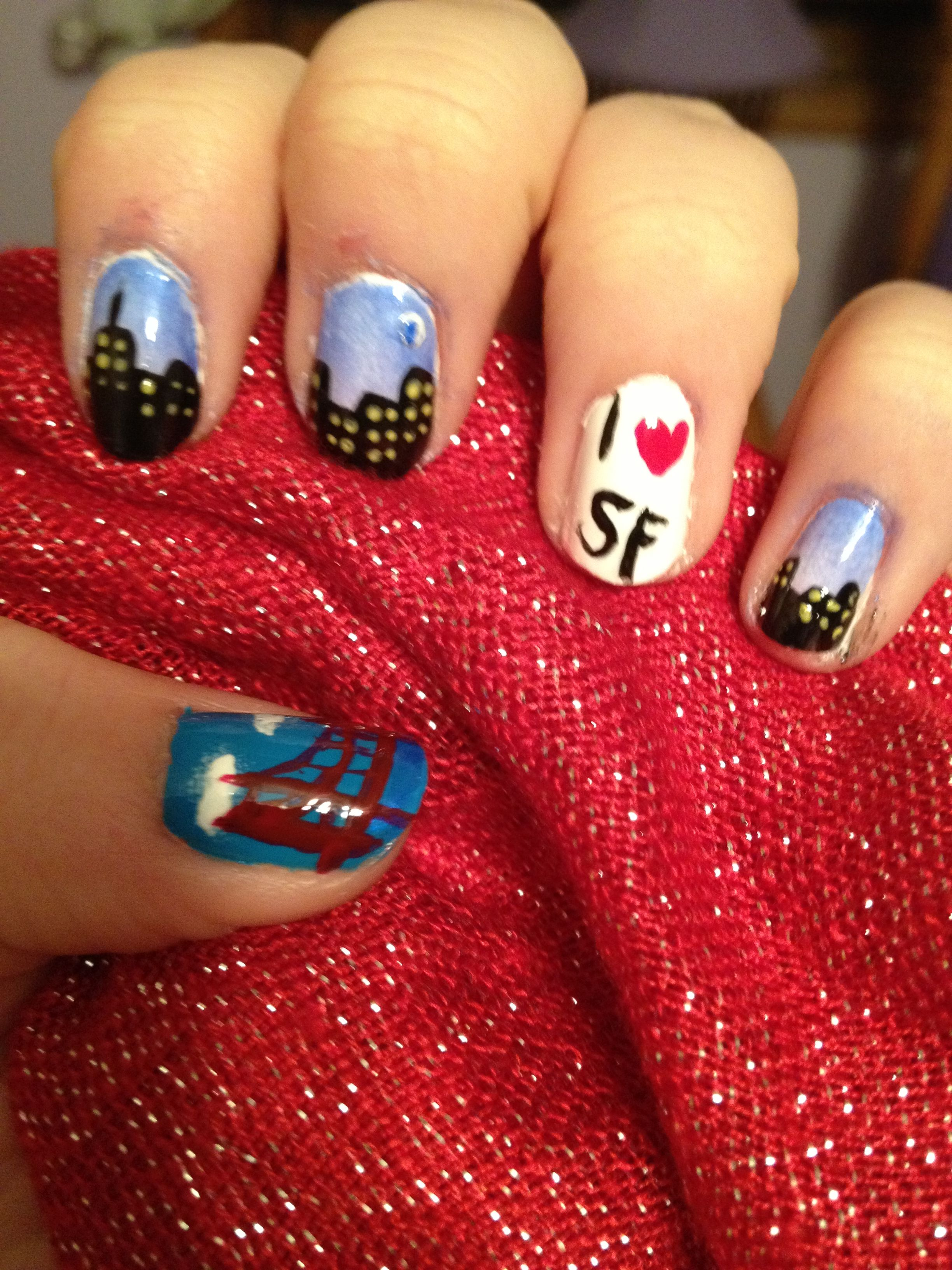 OPI San Francisco Nail Art Triangles Gnarly Gnails. 25 Best Ideas ...