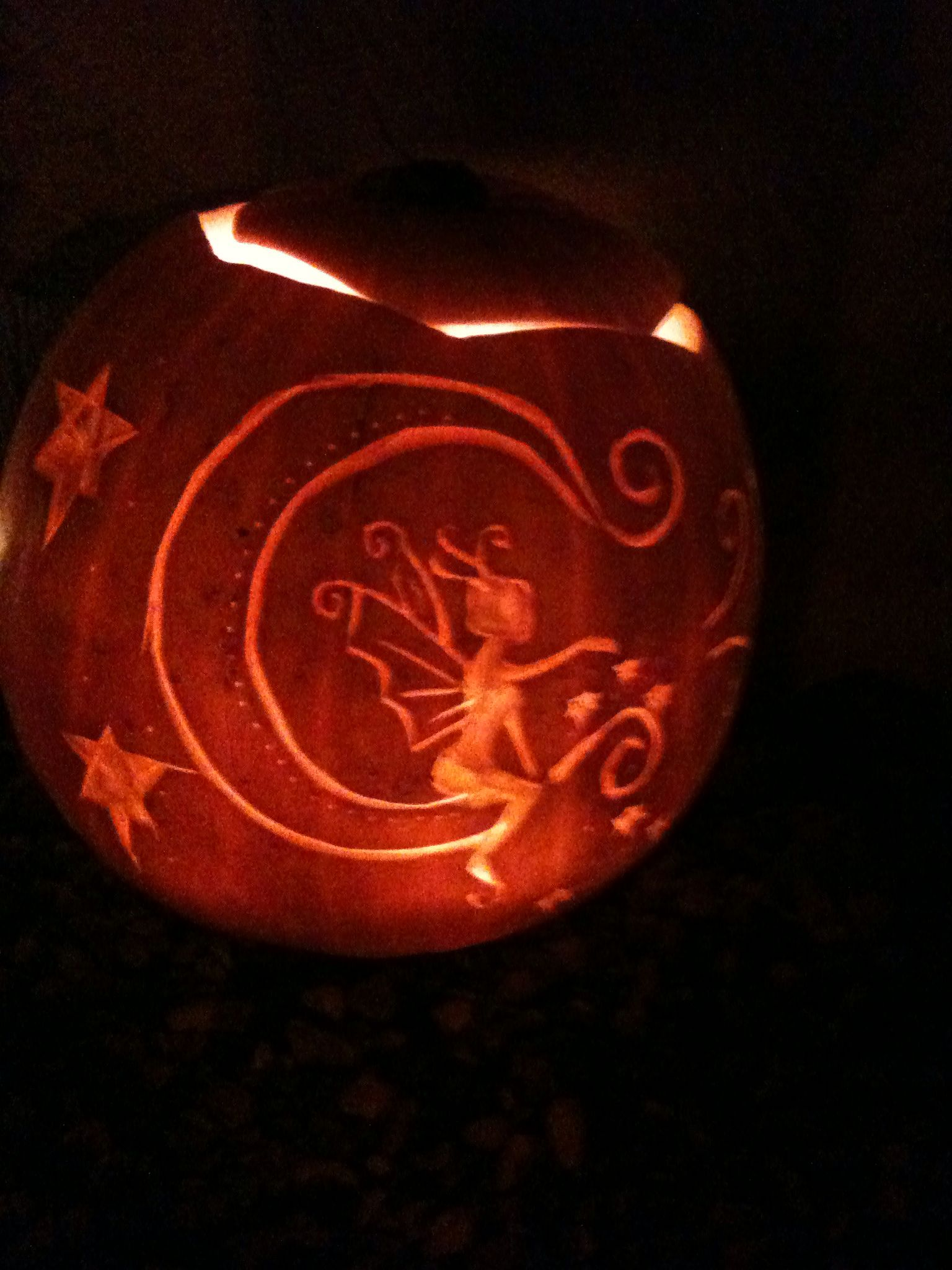 Hand carved pumpkin carve it pinterest