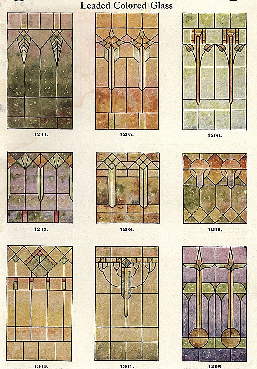 Stained glass window designs 1923 art pinterest - Stained glass window designs ...