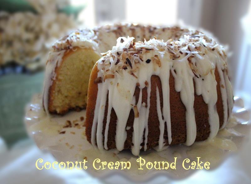 coconut cream cake | ~Something Good to Eat~ | Pinterest